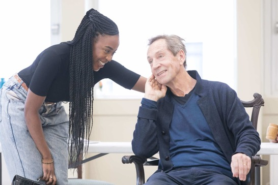 Robinah Kironde and Jonathan Hyde