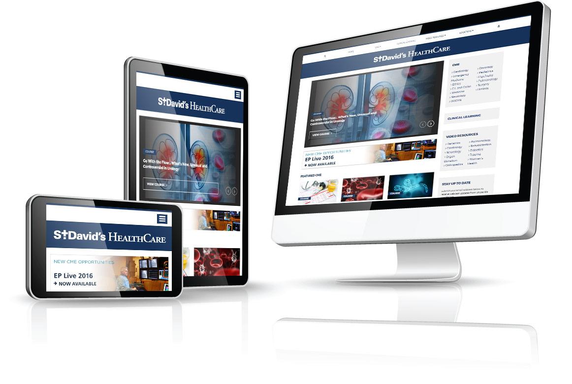 St. David's HealthCast | BCM Client Site
