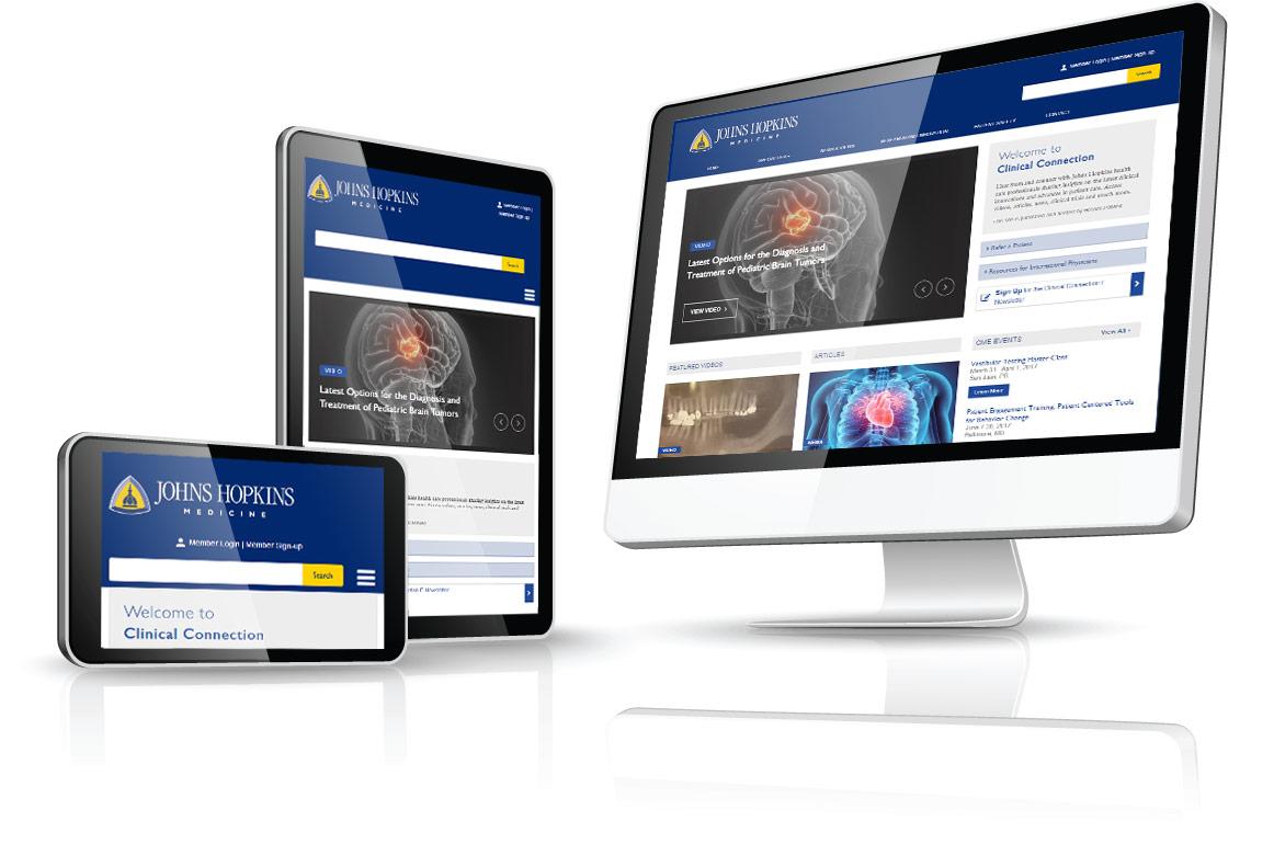 Johns Hopkins Medicine Clinical Connection | BCM Client Site