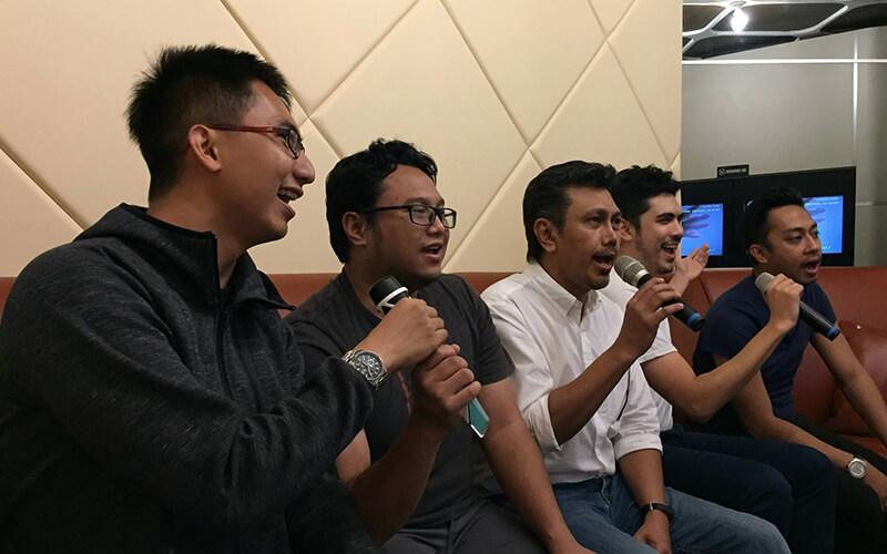 Popsical Karaoke Office Singapore