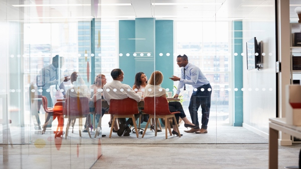 4 Of The Hottest Careers In Packaging | group of working professionals in a meeting room