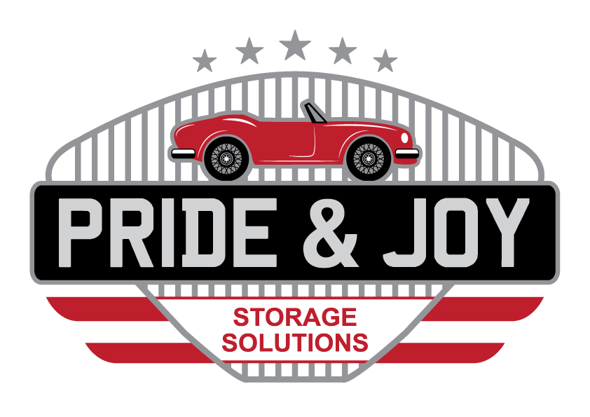 Pride & Joy Car Storage Logo