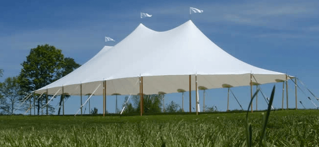 Sail Cloth tent rental