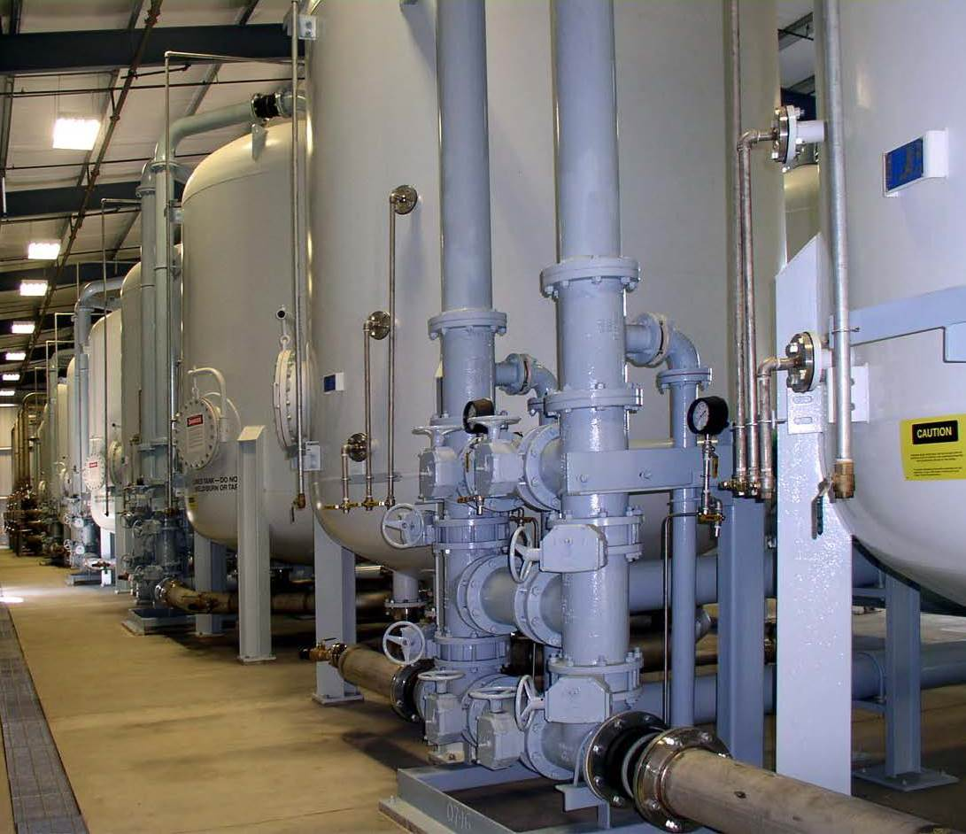 Valves for Water Treatment Plant