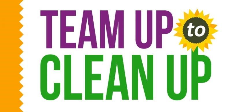 Team Up to Clean Up logo