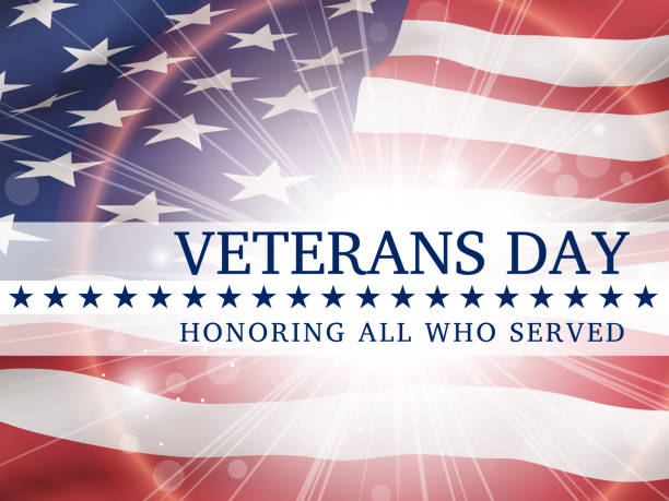 Veterans Day Honoring All Who Served banner