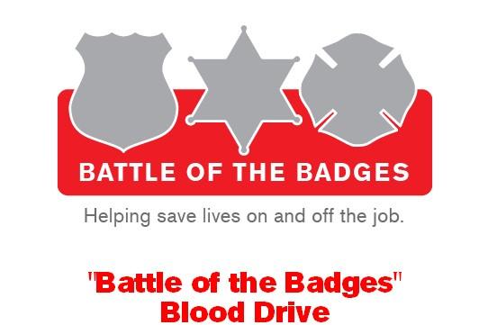 Battle of the Badges Blood Drive Logo