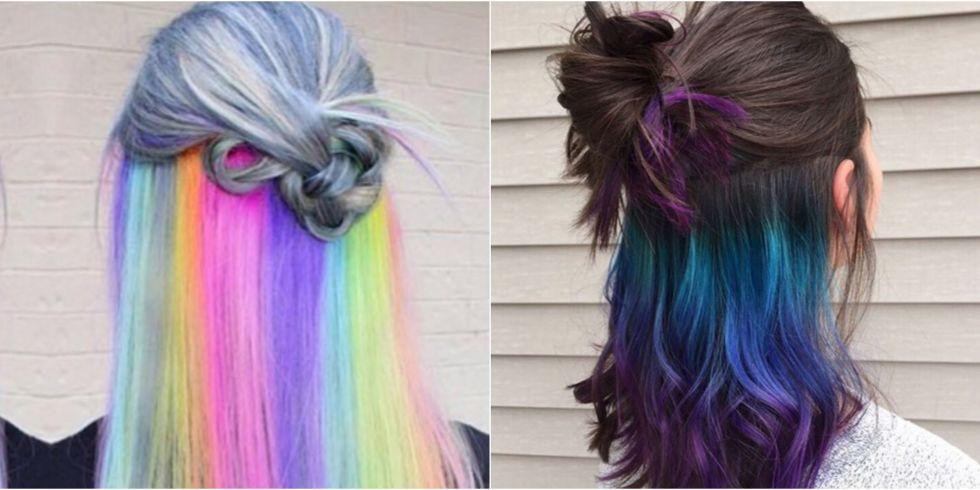 New Hair Trend Alert Underlights