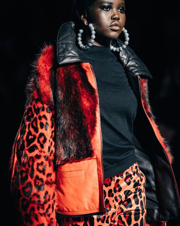 Tom Ford red leopard print