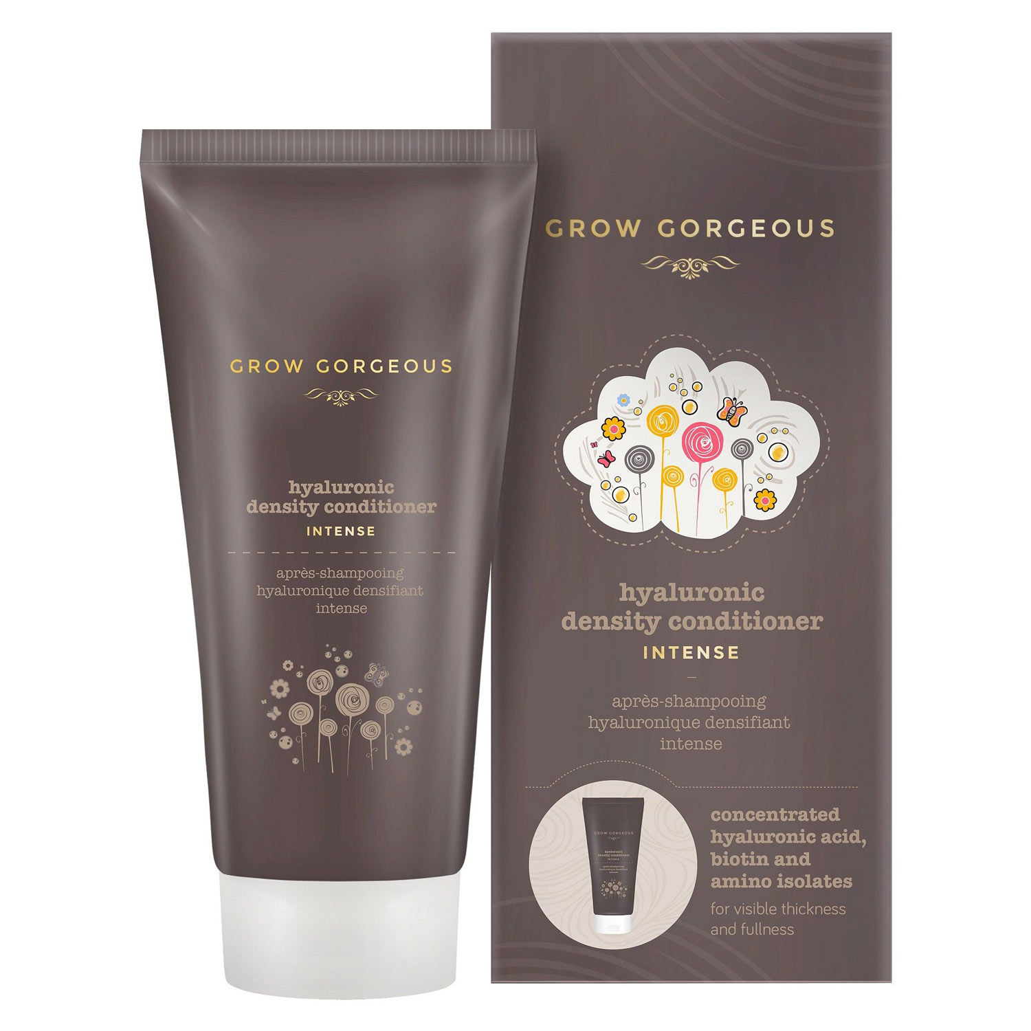GROW GORGEOUS Hyaluronic Density Conditioner, £18