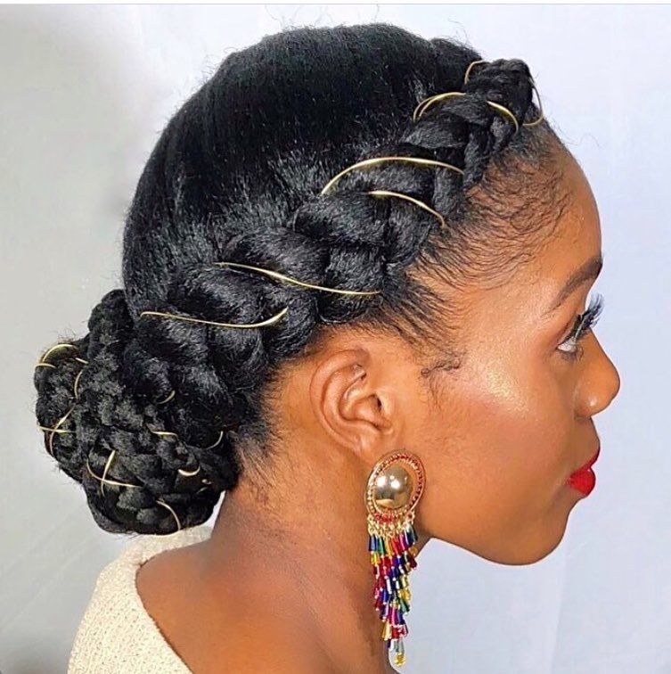 Braided up do
