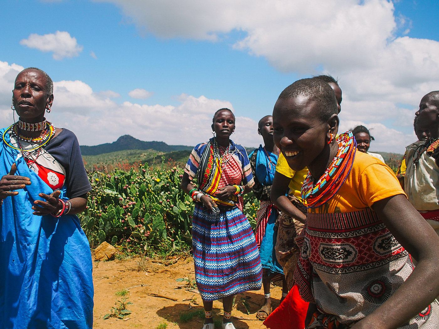 LUSH's Charity Pot helps Masai tribes