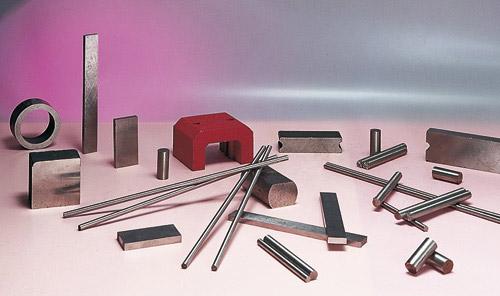 Barrette, bloc et base AlNiCo magnétique ou non-magnétique