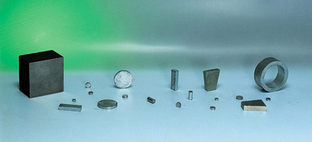 Disque, bloc et anneau SmCo magnétique ou non-magnétique