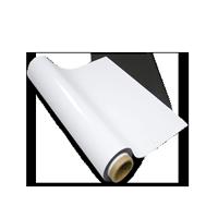 Tableau Magnétiques grandes largeurs PVC blanc