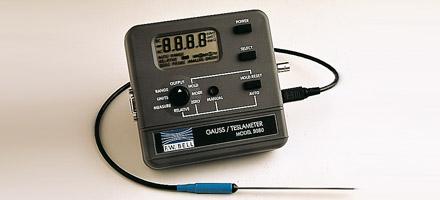 Gaussmètre portable