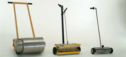 3 Balais magnétiques manuels