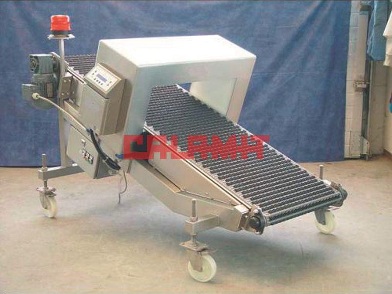 détecteur de métaux à tunnel avec mini tapis