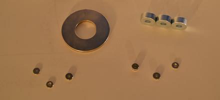 Anneaux magnétiques néodyme