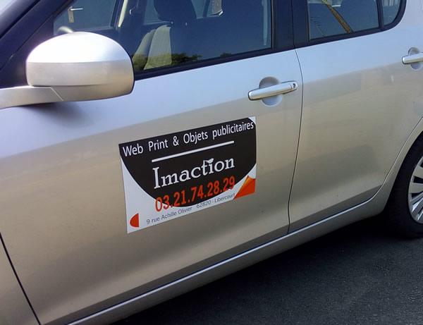 Pour la publicité de vos véhicules