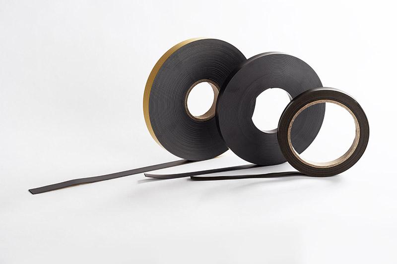 Ruban magnétique avec ou sans adhésif