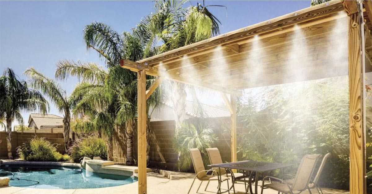 Charmant Arizona Outdoor Misting Systems