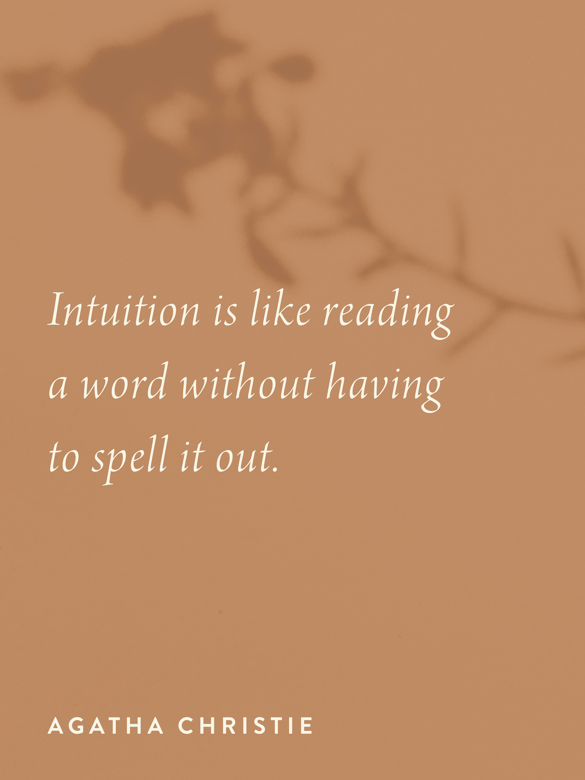 The Intuition Journal by Jo ChunYan Quote Journal Post Intuition Is Liked Reading A Word Without Having To Spell It Out