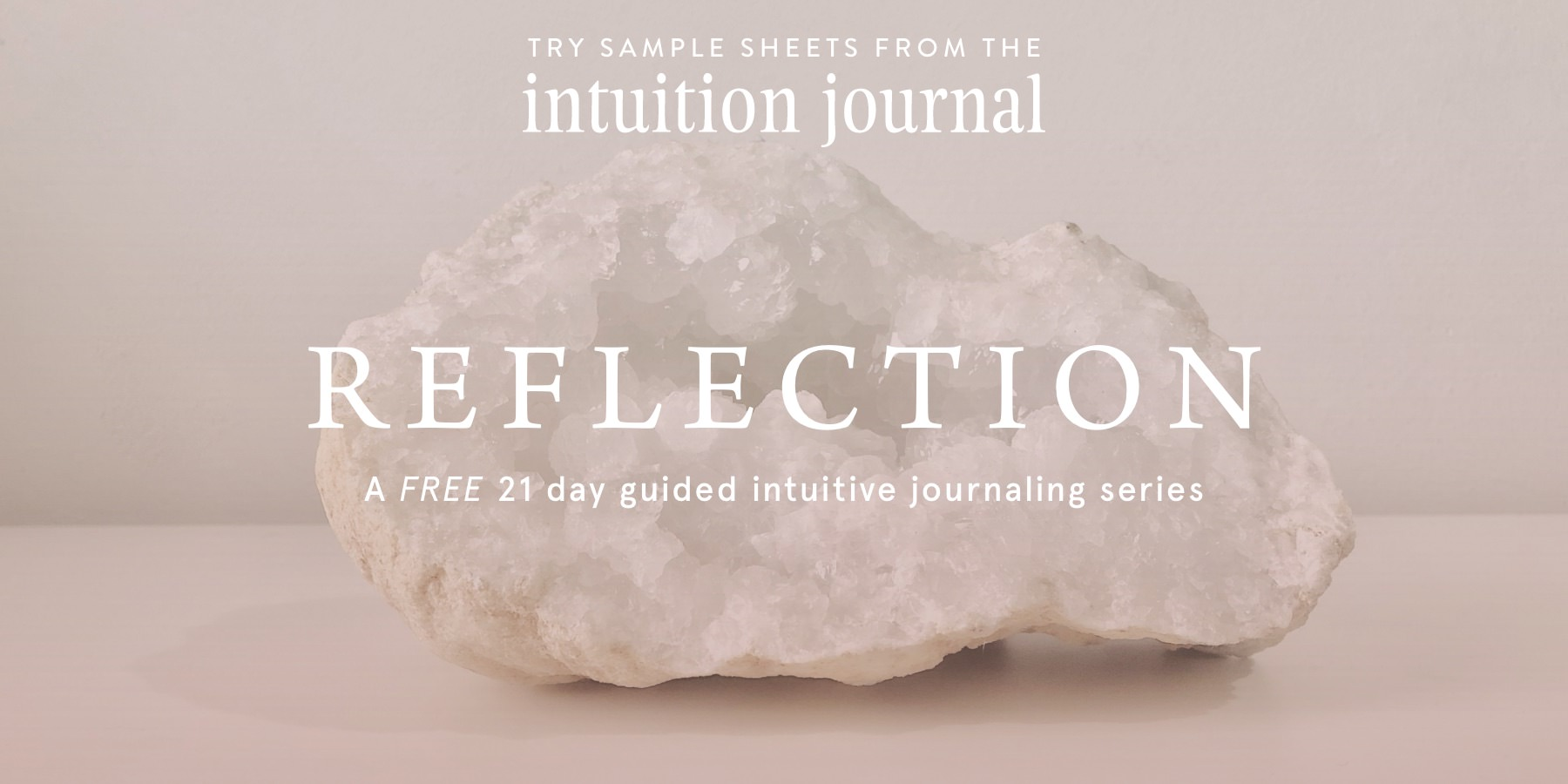 The Intuition Journal by Jo ChunYan Reflection Email Series