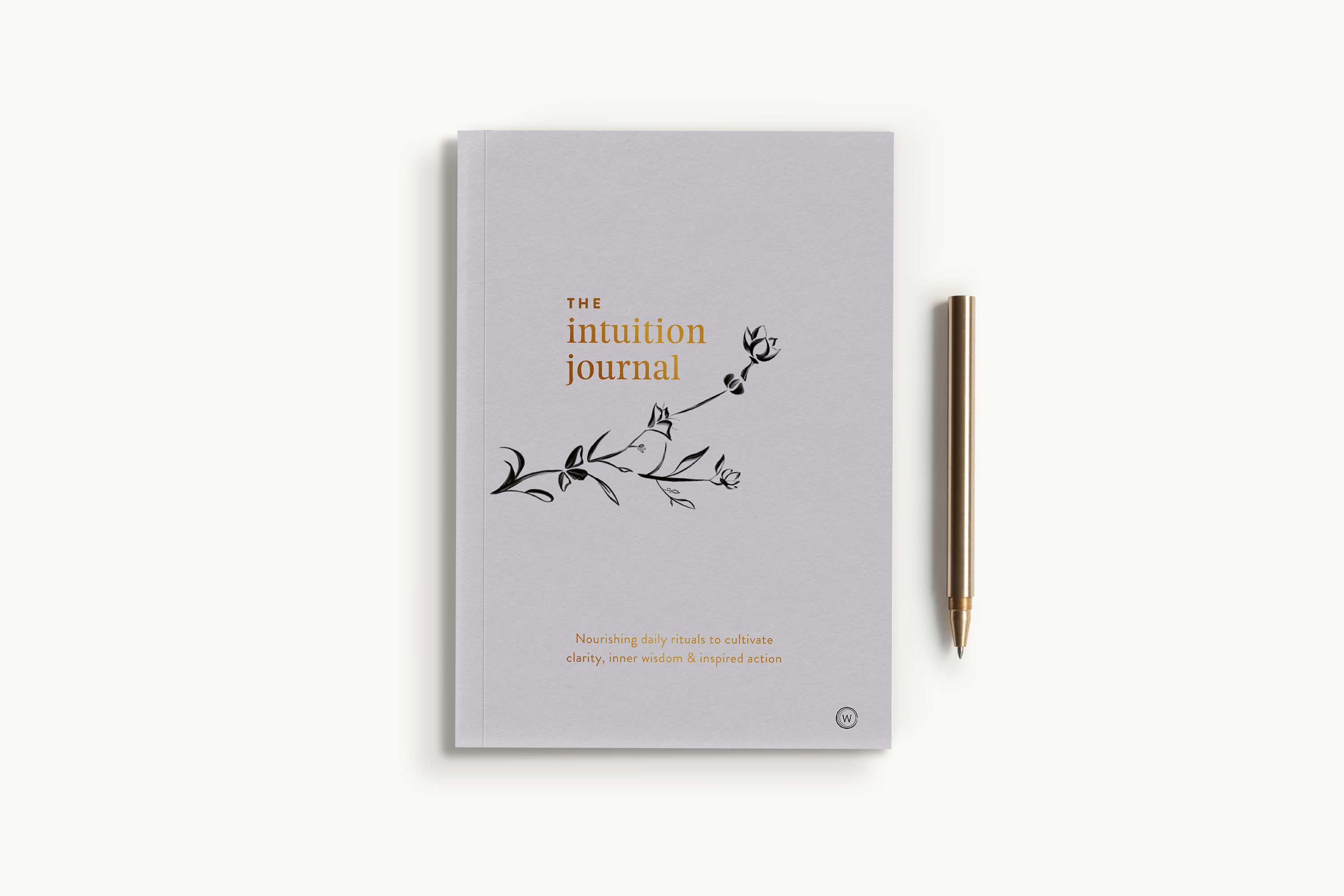The Intuition Journal by Jo ChunYan Cover Flatlay on Bed Spread Product Shot 9781786782793