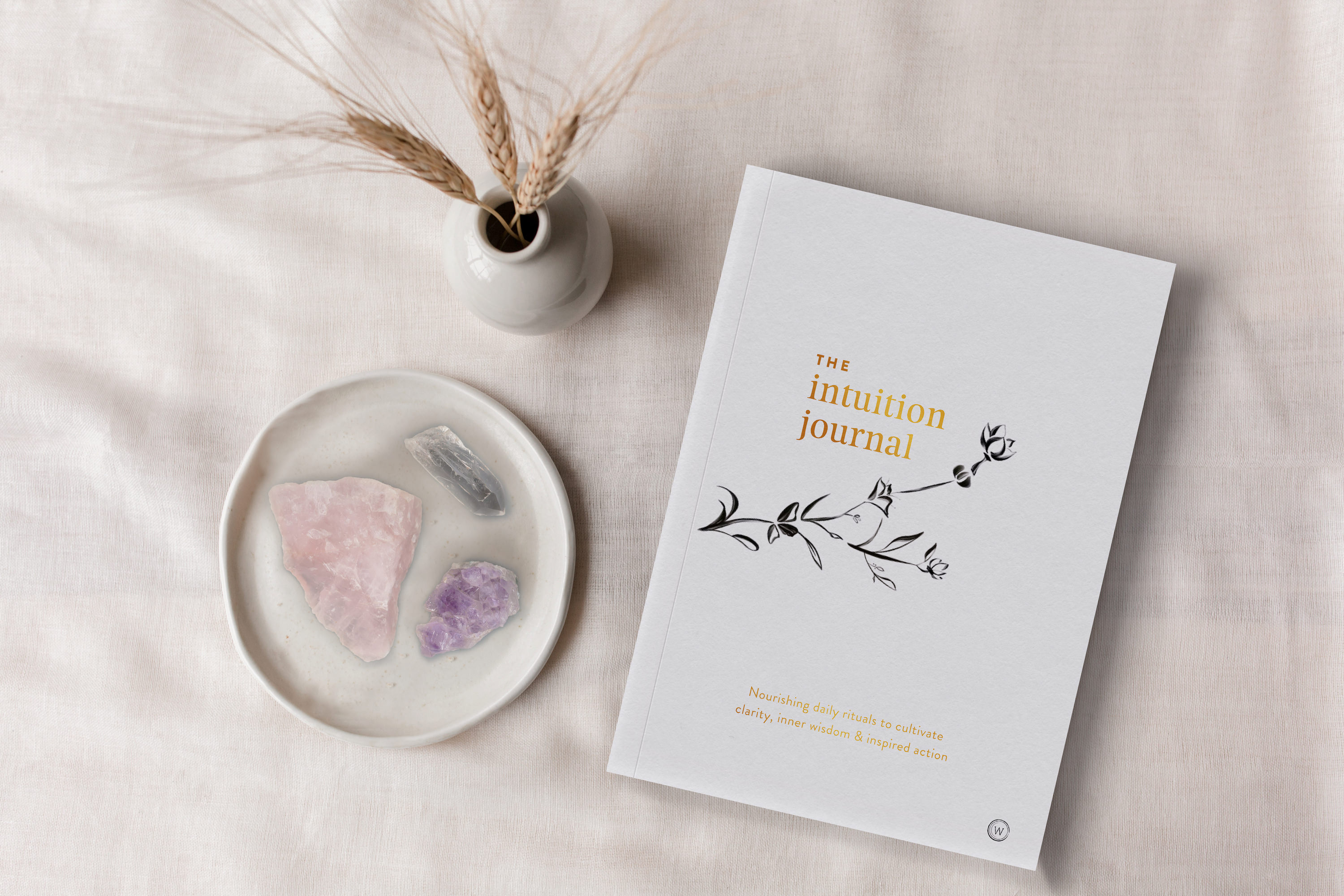 The Intuition Journal by Jo ChunYan Standing Cover Product Shot 9781786782793