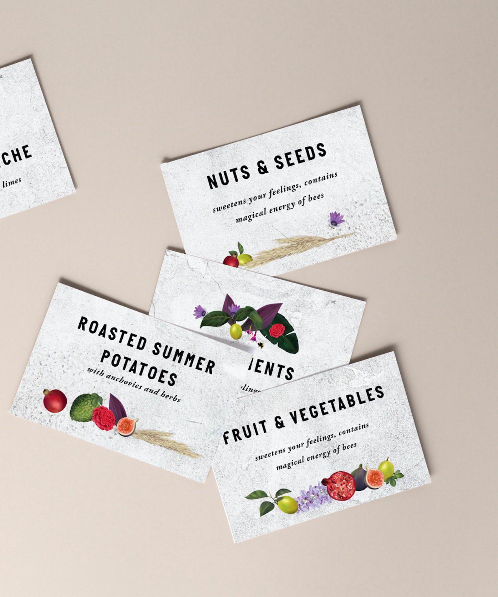 My Newtown Kitchen business cards