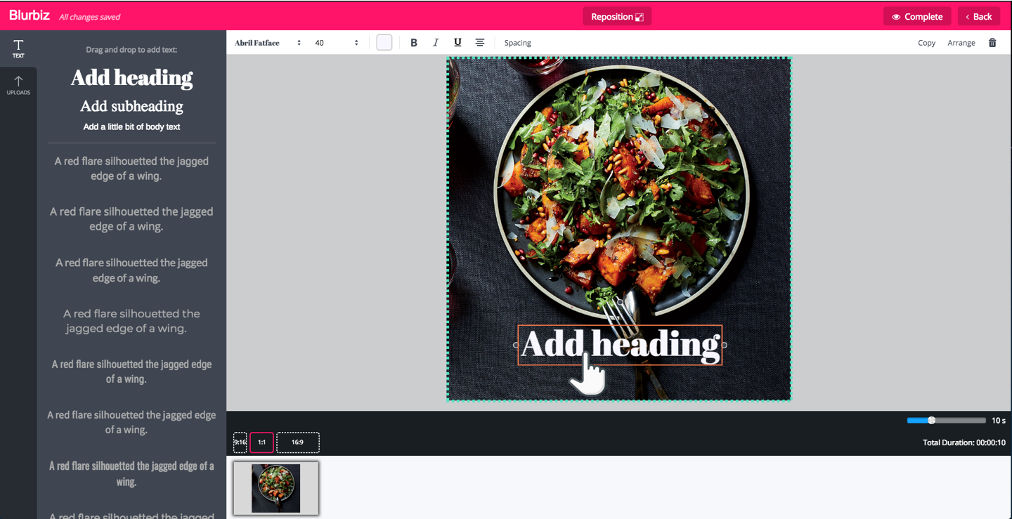 Add Text to Image online