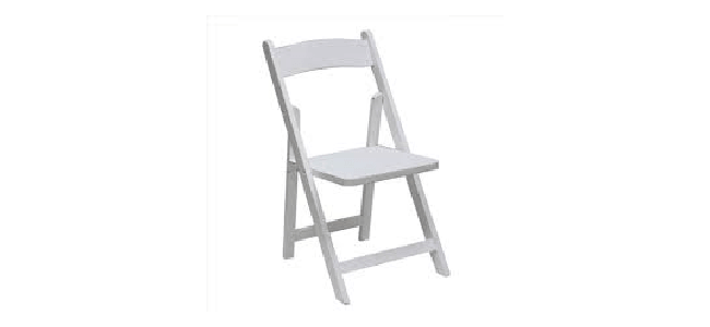 Wooden Padded Chair Rental