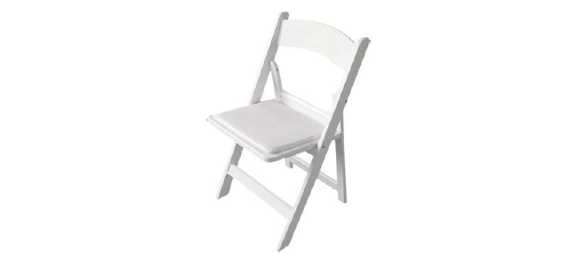 Resin Padded Chair Rental