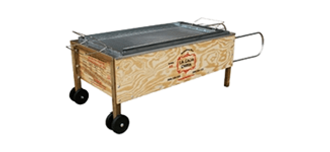 La Caja China Roasting Box Rental