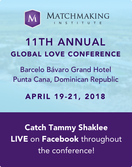Catch Tammy LIVE on Facebook throughout April 19–21 Global Love Conference