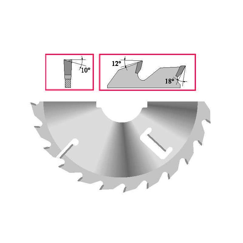 Panze circulare - pentru spintecat