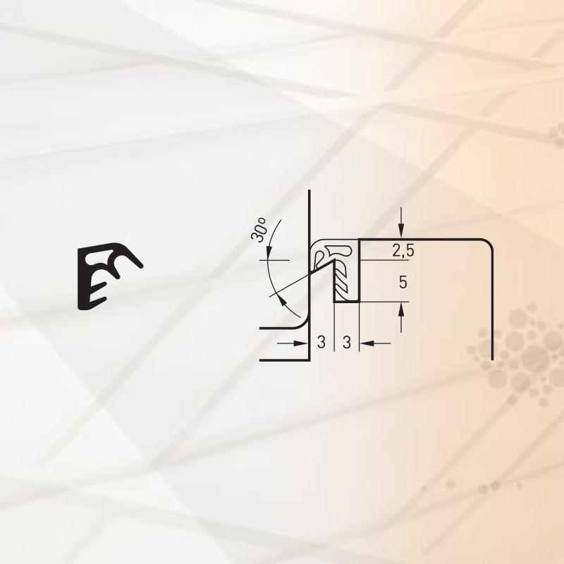 Garnitura pentru ferestre -art. S8016-TPE