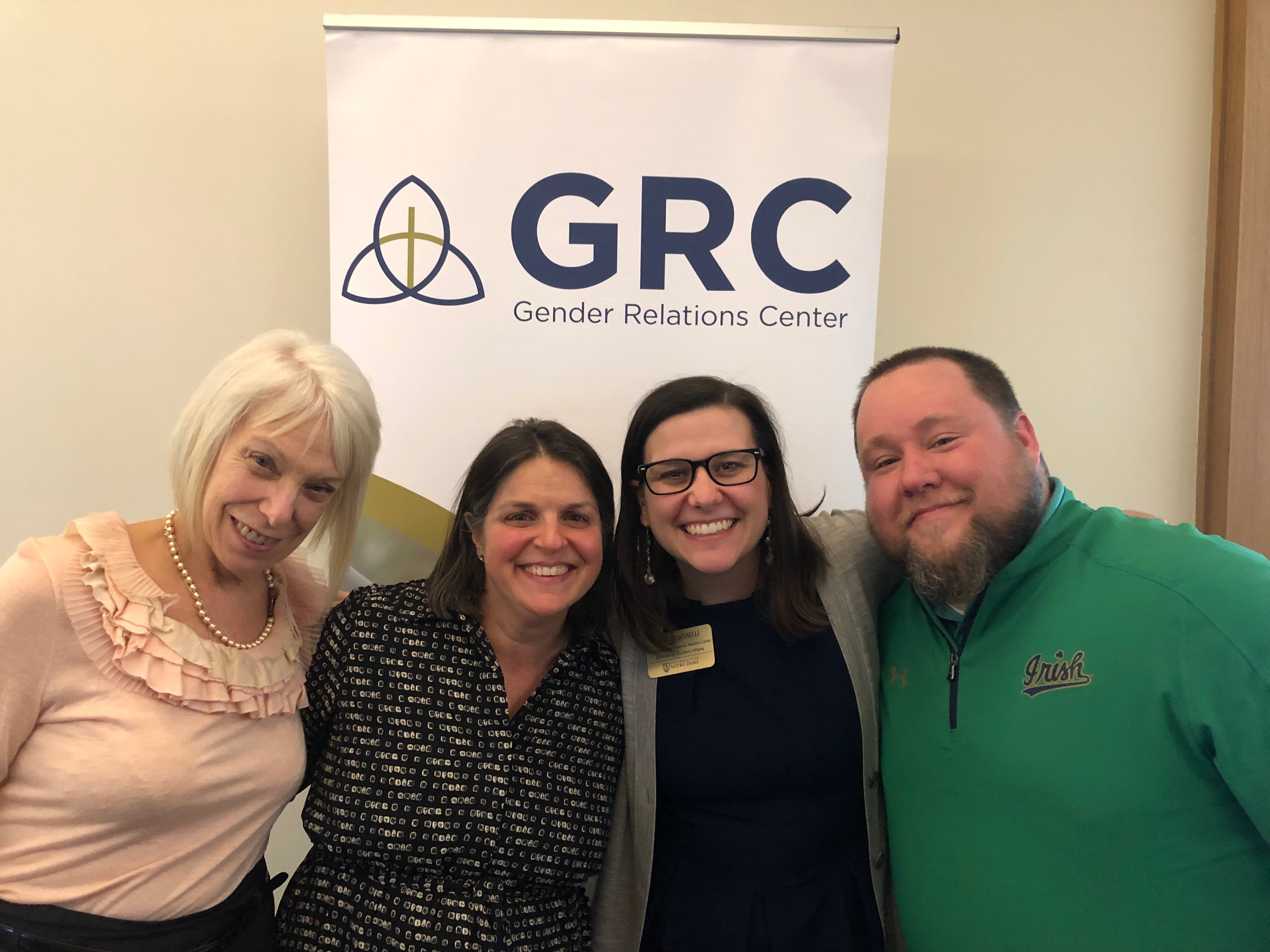 Image of GRC staff; Sara Agostinelli; John Johnstin, Marci Ullery, Christine Gebhardt, Mia James