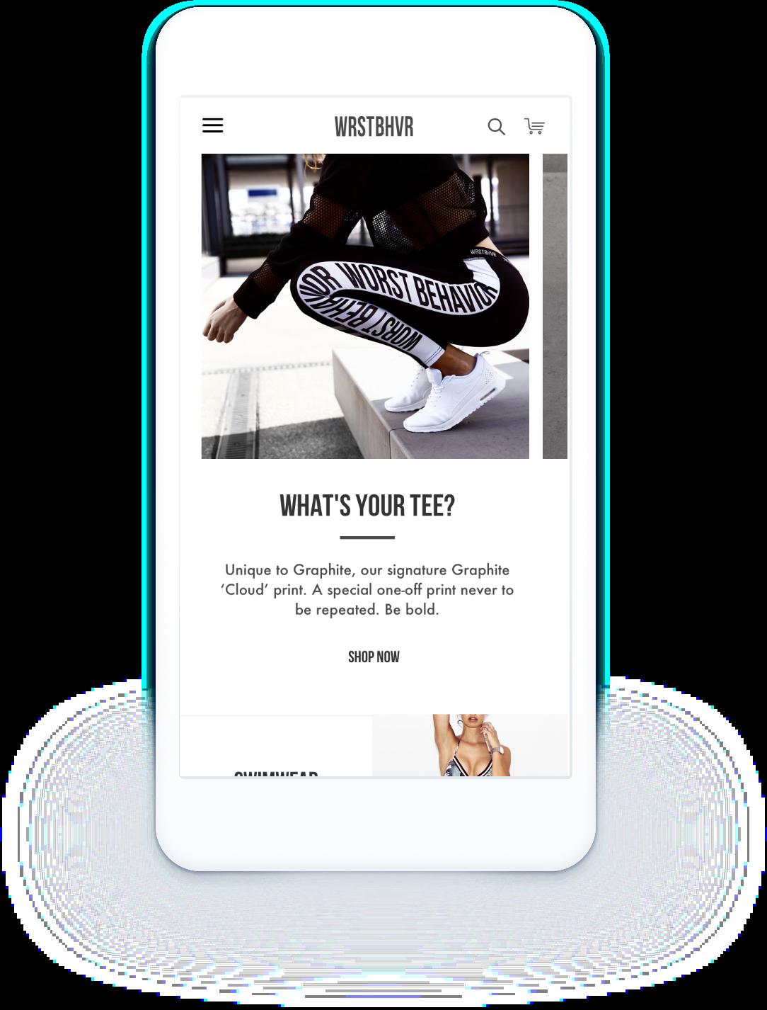 E-Commerce Shopware Shop Wrst Bhvr mobile optimiert und responsive