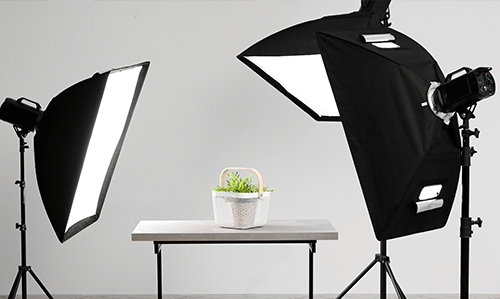 light tents & softboxes