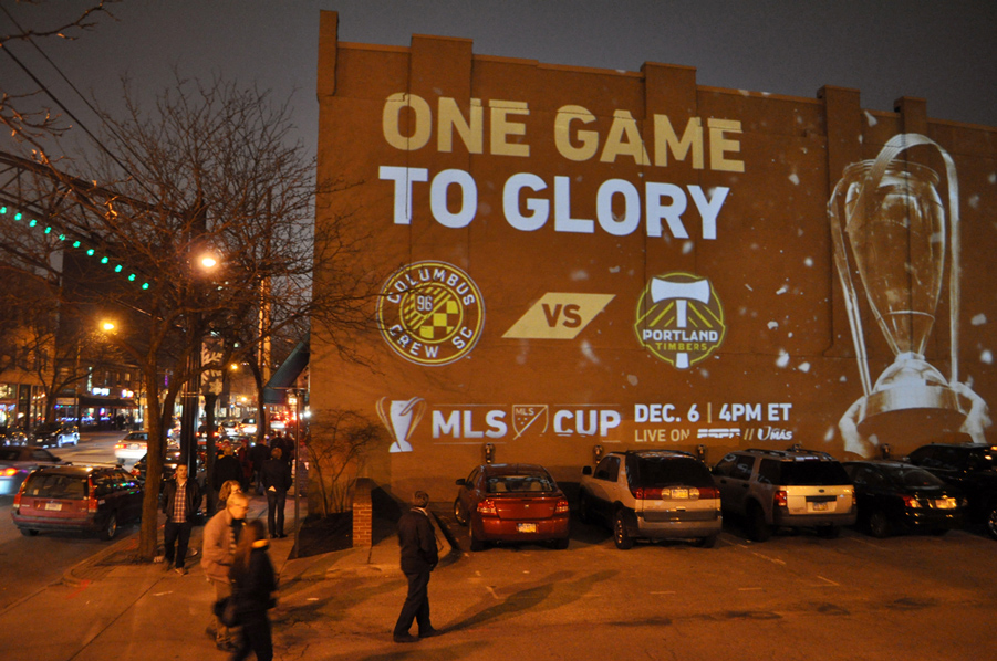 MLS Cup 2015 Projector