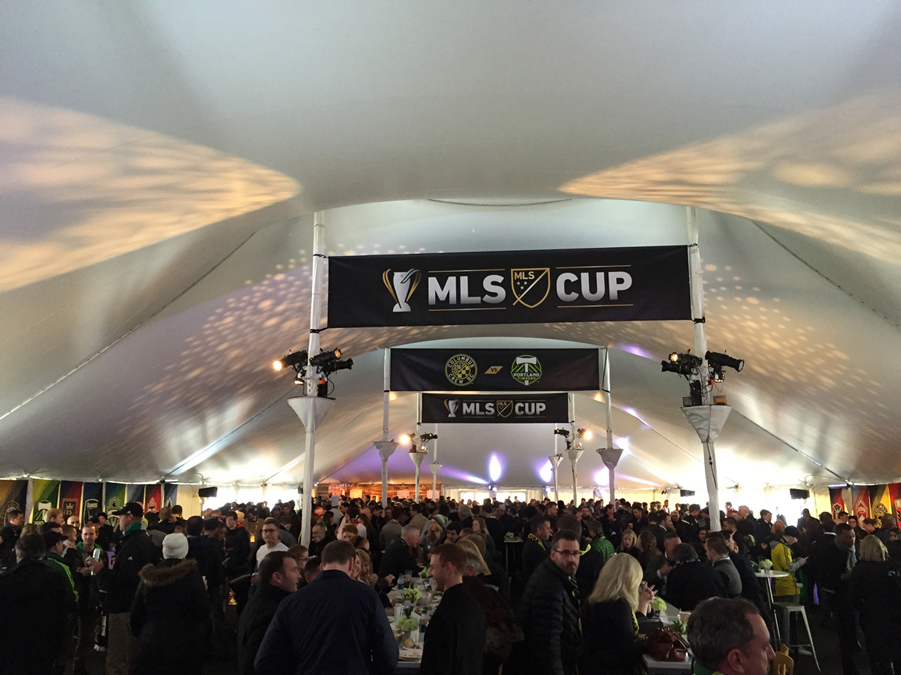 MLS Cup 2015 Tent
