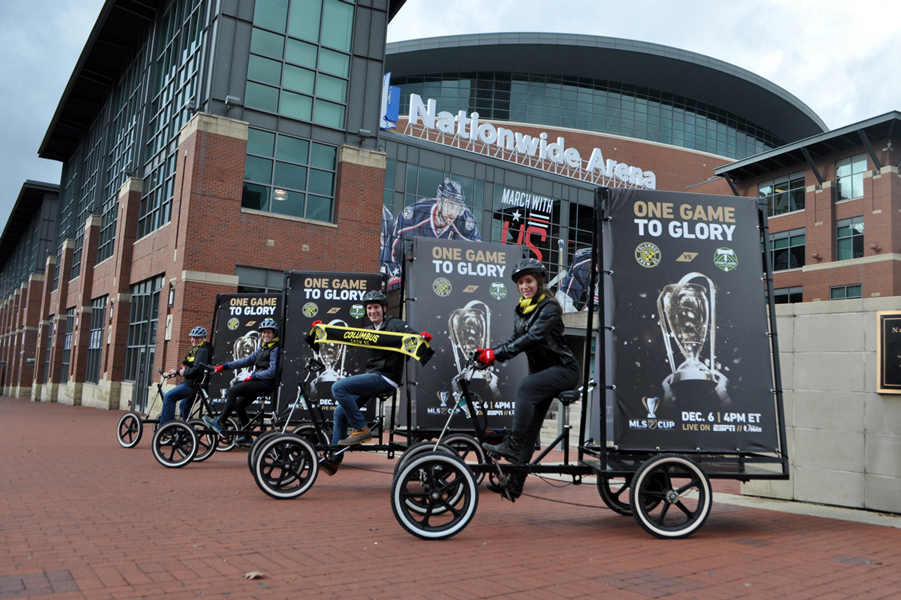MLS Cup 2015 Bike Ads