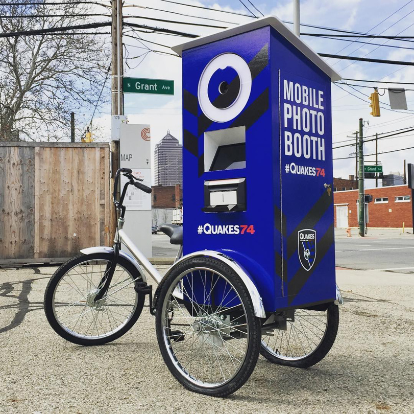 SJE Mobile Photo Booth Bike