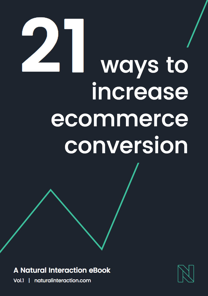 Download our free Ebook - 21 Ways to Increase Ecommerce Conversion