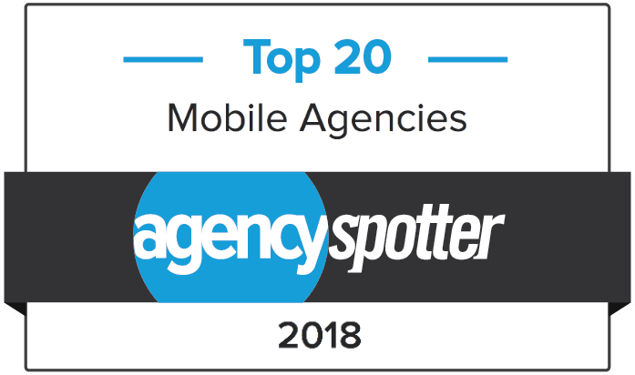 Agency Spotter have named us a Top 20 Mobile Agency in 2018