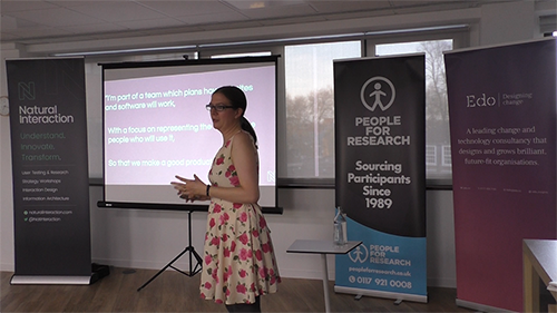UCD Bristol 7 - Kathryn Davies on the UX of user experience