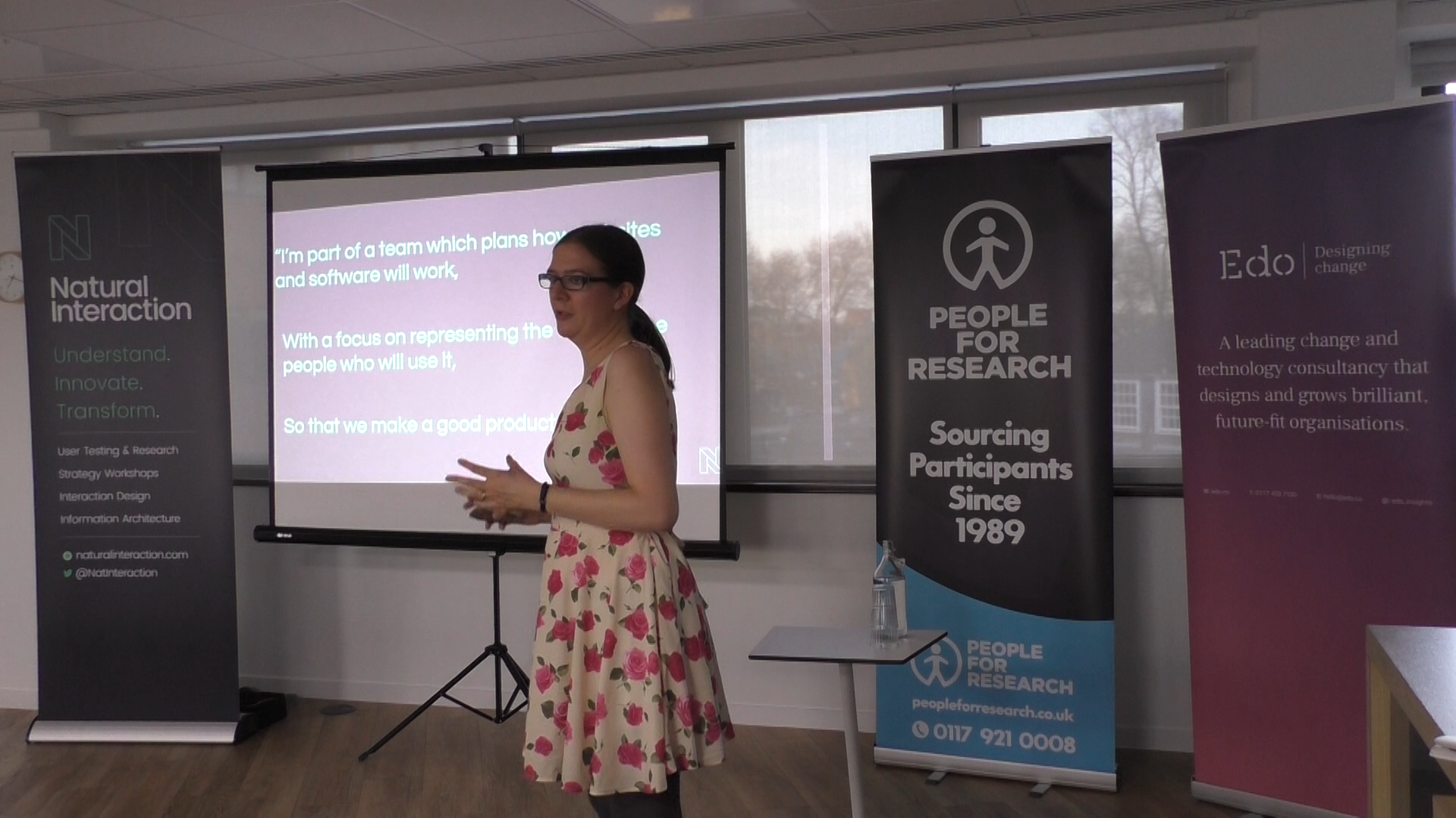 Kathryn Davies, Head of User Research at Natural Interaction.
