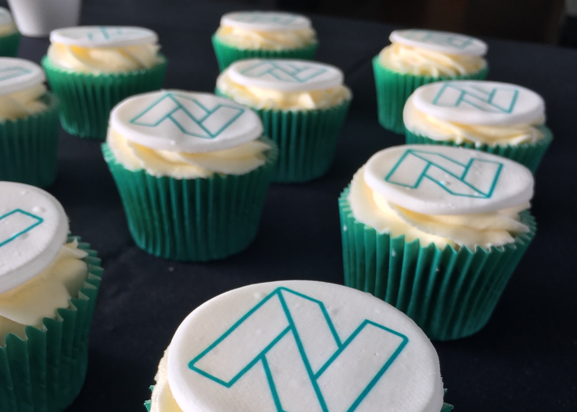 cupcakes with natural interaction logo